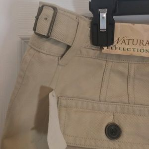 Natural Reflections Pants - Natural reflections cream, pants.